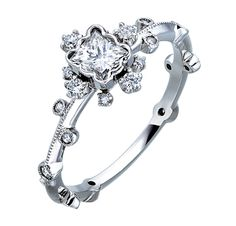 Engagement Ring.(Platinum) AbHeri