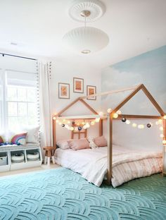 2019 Christmas gift guide for girls and boys aged Sunny Circle Studio For this holiday season I m sharing my favorite toys and activities that encourage imaginative play that your kids will return to over and over again Baby Room Design, Baby Room Decor, Bedroom Decor, Cool Kids Rooms, Little Girl Rooms, My New Room, Girls Bedroom, Shared Kids Bedrooms, Modern Girls Rooms