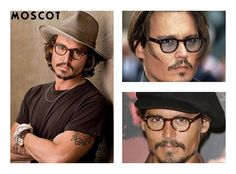 He's a pirate, a mad hatter, a notorious barber, and a man with scissors instead of hands -- eclectic actor Johnny Depp is the archetypal artist you can't help but love. Both quirky and sexy, his style is never without flair. Just look at how he rocks his MOSCOT frames!  #ModMonday #Moscot #JohnnyDepp #Celebrity #Sarabia #SarabiaOptical #Fashion #Eyeglasses #Sunglasses #Sunnies #Eyewear #Hollywood
