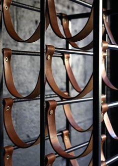 Stylishly Storing Wine is part of Industrial wine racks - Wine cellar design - Metal wine rack - Interior Design Minimalist, Industrial Interior Design, Industrial Interiors, Modern Industrial, Vintage Industrial, Industrial Office, Kitchen Industrial, Industrial Lamps, Bar Interior