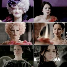 """Although lacking in many departments, Effie Trinket has a certain determination I have to admire."""