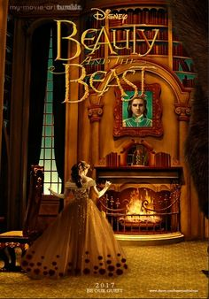 Disney's Beauty and the Beast Poster. Disney Live, Disney Dream, Disney Fun, Disney Magic, Walt Disney, Disney 2017, Disney Stuff, Disney Films, Disney And Dreamworks