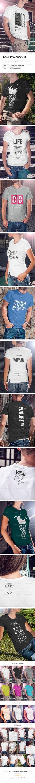 6 poster design photo mockups 57079 - T Shirt Mock Up Mockup Designmale