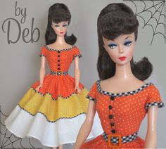 Halloween Dance - Vintage Barbie Doll Dress Reproduction Repro Barbie Clothes | eBay