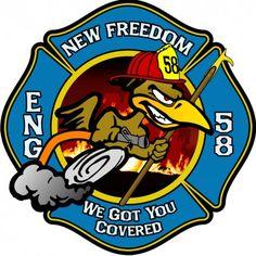 Rose Fire Company 1 Logo