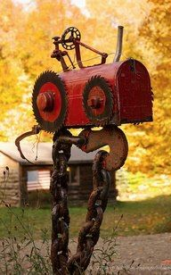 tractor mailbox...YES YES YES