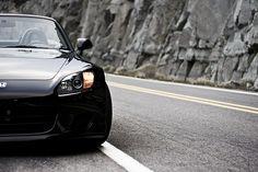 Berlina Black Honda S2000 | All about Honda | Honda | Dream Car | car | car photography | sheer driving pleasure | Schomp Honda