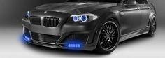 BMW montáž LED světel