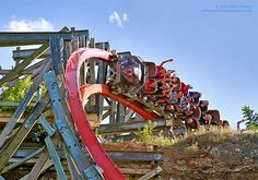 Six Flags Fiesta Texas' Iron Rattler hybrid #rollercoaster.