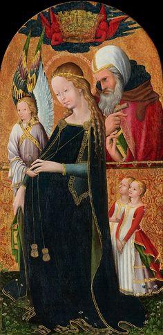 Virgen de la espera. Siglo XV.