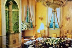 Château Margaux, as decorated by Henri Samuel, Part 3 , Dining Room