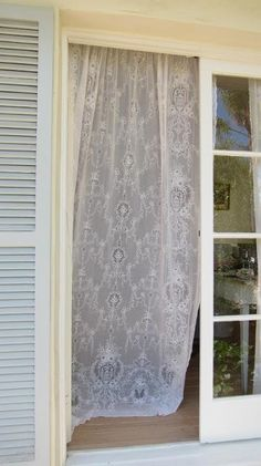 Rachel Ashwell White lace curtain - Google Search