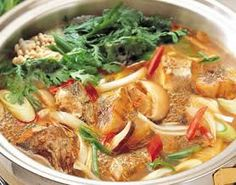Maeuntang - Hot Spicy Fish Soup - 매운탕