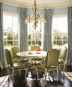 for my octagon breakfast room curtains