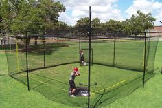Square Batting Cage