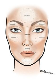 contour makeup – Hair and beauty tips, tricks and tutorials Contouring Oval Face, Oval Face Makeup, Face Makeup Tips, Makeup Face Charts, Best Makeup Tips, Makeup 101, Contour Makeup, Makeup Geek, Skin Makeup