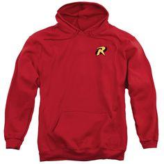 Batman/Robin Logo Adult Pull-over Hoodie