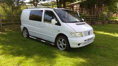 My Mercedes Vito van. Camper conversion. Airport taxi…