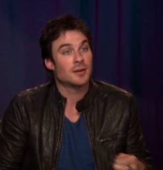Ian Somerhalder on Fans Picturing Him as Fifty Shades of Greys Christian