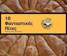 Φτιάχνουμε Πίτες! Δείτε 10 φανταστικές πίτες που ξεχωρίζουν! Pita Recipes, Almond Recipes, Greek Recipes, New Recipes, Cooking Recipes, Filo Recipe, Food Network Recipes, Food Processor Recipes, Greek Sweets