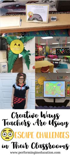 Check out these creative ways teachers are using the emoji escape challenges in their classrooms! 4th Grade Reading, 4th Grade Math, Third Grade, Sixth Grade, Middle School Science, Beginning Of School, Classroom Activities, Classroom Organization, Classroom Ideas