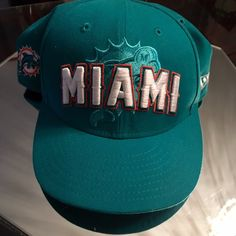 🆕Miami Dolphins NFL Hat Miami dolphin NFL❤️Hat ❤️sz 71/2❤️new❤️never wore❤️🚫trades🚫❤️ please use offer button via all listings❤️ Nike Accessories Hats