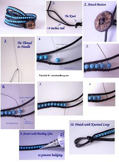 DIY bracelet. by anne