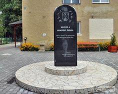 Sport in Ózd - memorial