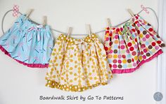 Boardwalk Skirt from Go To Patterns