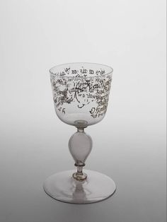 goblet, Anonymous, c. 1661 | WOW.