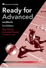 Ready for Advanced, ed., Macmillan Education, Coursebook with key, Workbook with key with audio CD. Ready For First, Oxford English, Cambridge English, Grammar And Punctuation, Audio, Textbook, Amanda, Student, Shopping