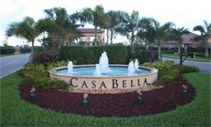 Delray Beach, Florida.  Casa-bella Community