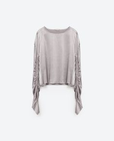 Image 8 of SATEEN BLOUSE from Zara