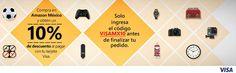 Amazon Cupón de Descuento con Tarjetas Visa
