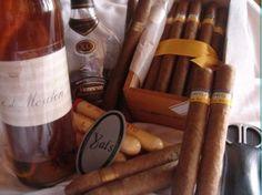 Fine French Cognac & Cuban Cigars
