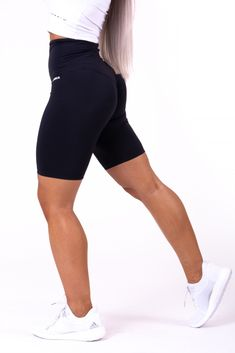 Be daring! Try out the biker shorts that are not only great and comfortable while doing any physical activity but mainly absolutely sexy! Buy now in sale and tag us on Instagram @nebbia_fitness  #nebbiafitness #fitnesswear #nebbiawear #nebbiaoriginal #fitnessmeetsfashion #nebbia Slim Waist, Gym Wear, Workout Wear, Biker, Beautiful Women, Sporty, Stylish, Highlight, Sexy