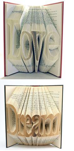 We can't quite believe how intricate these sculptures by self-taught artist Isaac Salazar are. Folded and cut by hand, they are truly beautiful and really appeal to our imaginations! We love that this artist takes an old book that would be otherwise redundant and turns it into art. Fancy having a few of these on …Continue reading BOOK OF ART