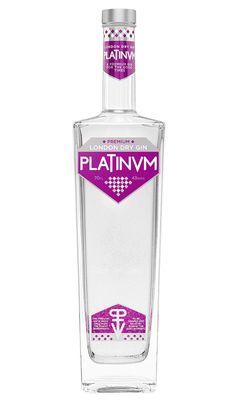 GINEBRA PLATINUM LONDON DRY GIN PREMIUM 22.50€ $29.12