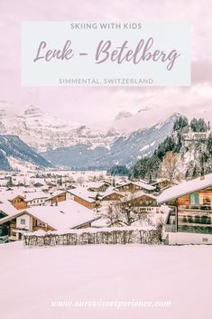 Lenk is one of the most popular winter sports venues in Switzerland. It is suitable for beginners and the prices for ski passes here are very favorable. Snowboarding, Skiing, Adelboden, Ski Pass, Alpine Chalet, Ski Lift, Winter Hiking, Interactive Map, Family Day