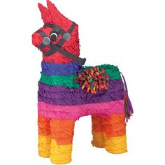 Check out Rainbow Donkey - Individualized Party Supplies & - - TARGET - - $ 12.99 WITHOUT CANDY - from Birthday In A Box