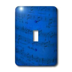 3dRose LLC lsp_20603_1 Sheet Music in Blue - Single Toggle Switch 3dRose http://www.amazon.com/dp/B0054O1H5E/ref=cm_sw_r_pi_dp_PwW.wb1RQPVM0