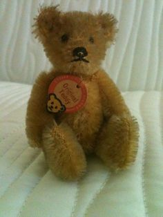 "Antiques Steiff teddy bear 3.75""  Mint #Steiff"