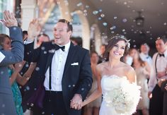 A Glam 1920s-Inspired Wedding with Feather Accents by Amanda Donaho Photography