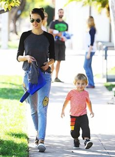 Alessandra Ambrosio Photos: Alessandra Ambrosio Out And About With Her Son