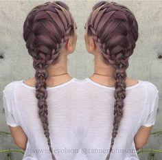 Hair braids Más
