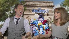 The Smurfs 2: Neil Patrick Harris & Jayma Mays Create Their Own Smurf