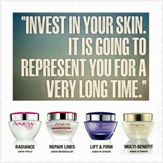 Buy #anew #skincare now or pay for expensive plastic surgery later!
