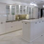 Traditional white kitchen from Bauformat