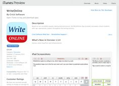 Based on our incredibly popular talking word processor, the WriteOnline App provides secondary school students with age-appropriate support throughout the writing process.