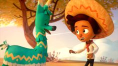 Hola Llamigo Animated Short film by Charlie Parisi and Christina Chang. Featured on CGMeetup http://www.cgmeetup.net/home/hola-llamigo-short-film/ The beauti...
